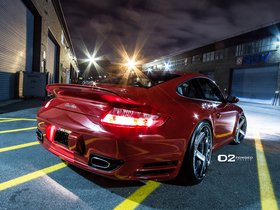 Ver foto 3 de Porsche 911 Turbo 997 D2Forged CV2 2012