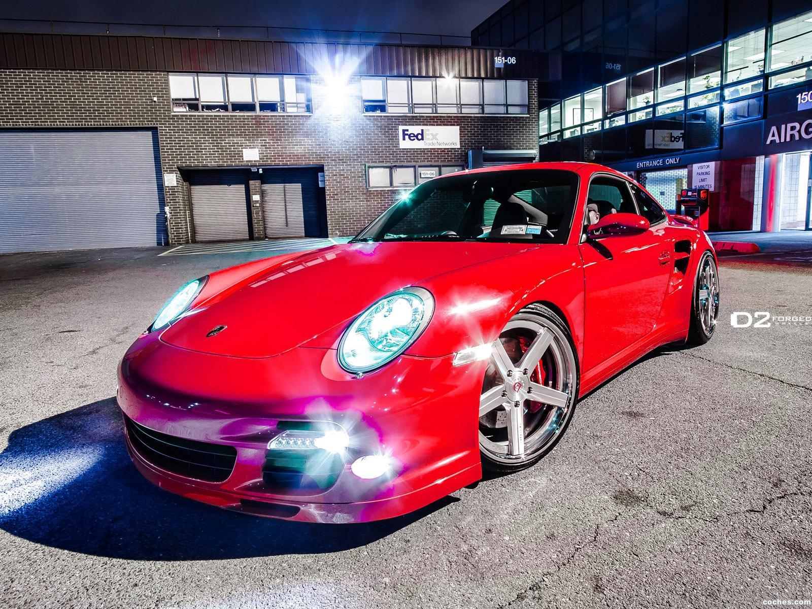 Foto 0 de Porsche 911 Turbo 997 D2Forged CV2 2012