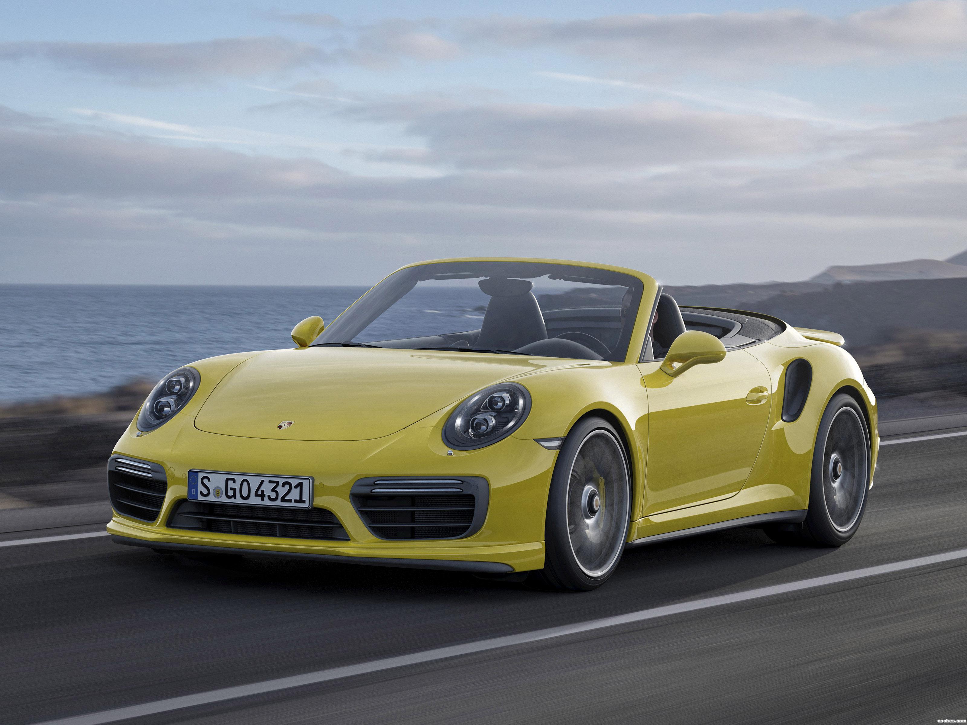 Foto 0 de Porsche 911 Turbo S Cabriolet 991 2016