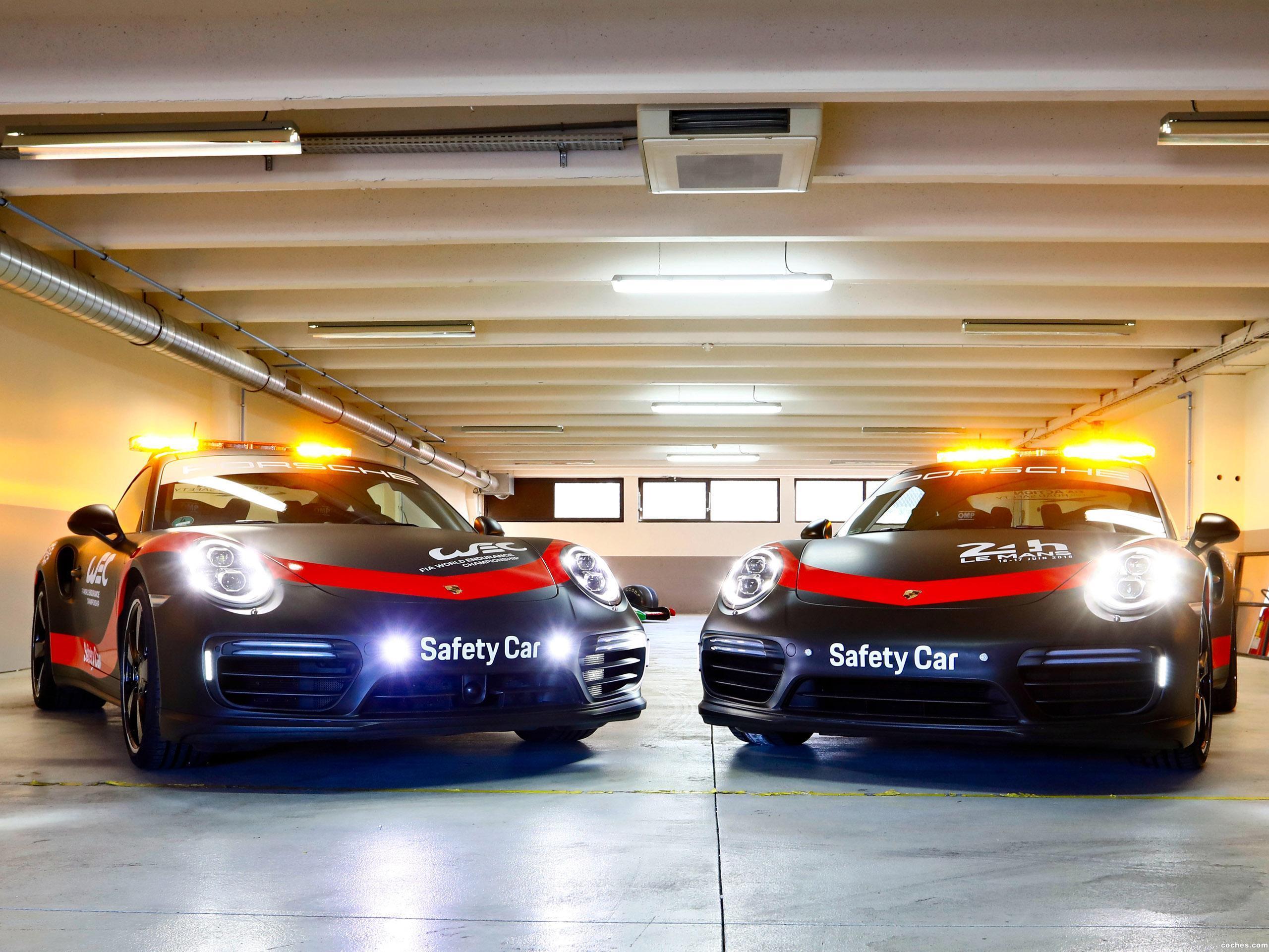 Foto 1 de Porsche 911 Turbo WEC Safety Car 991  2018