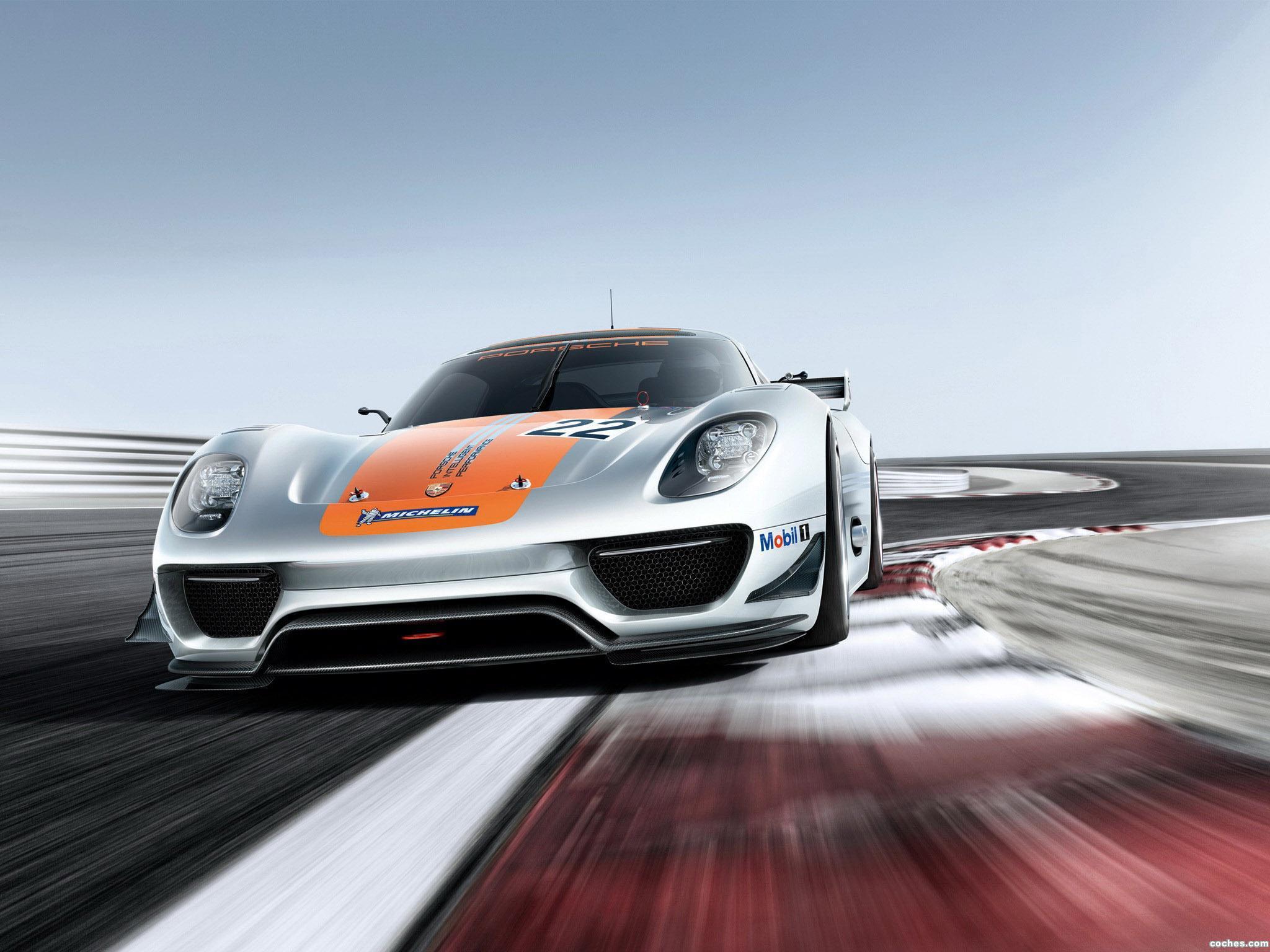 Foto 0 de Porsche 918 RSR Concept 2011