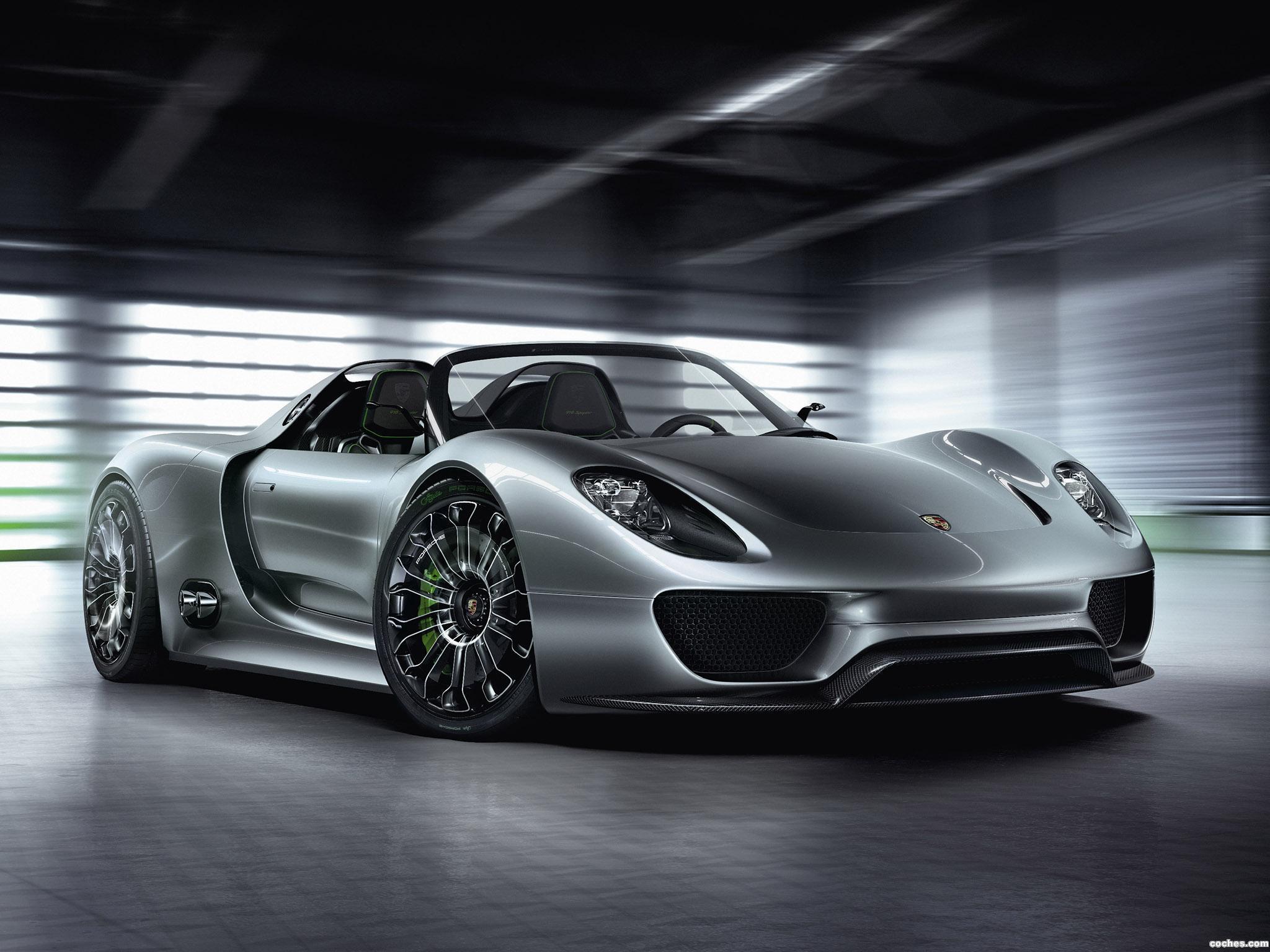 Foto 0 de Porsche Spyder Concept 2010