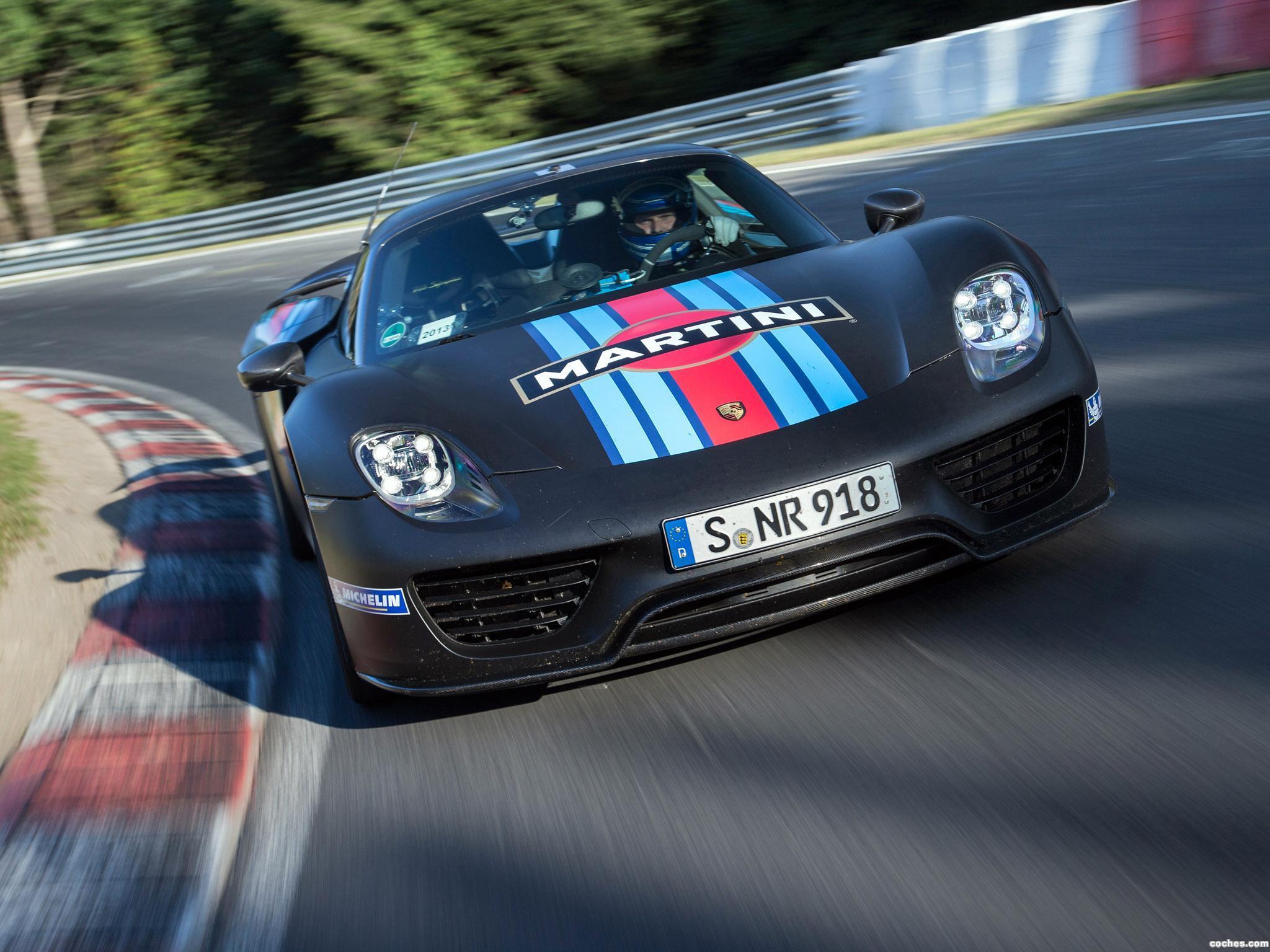 Foto 0 de Porsche 918 Spyder Martini Racing 2014
