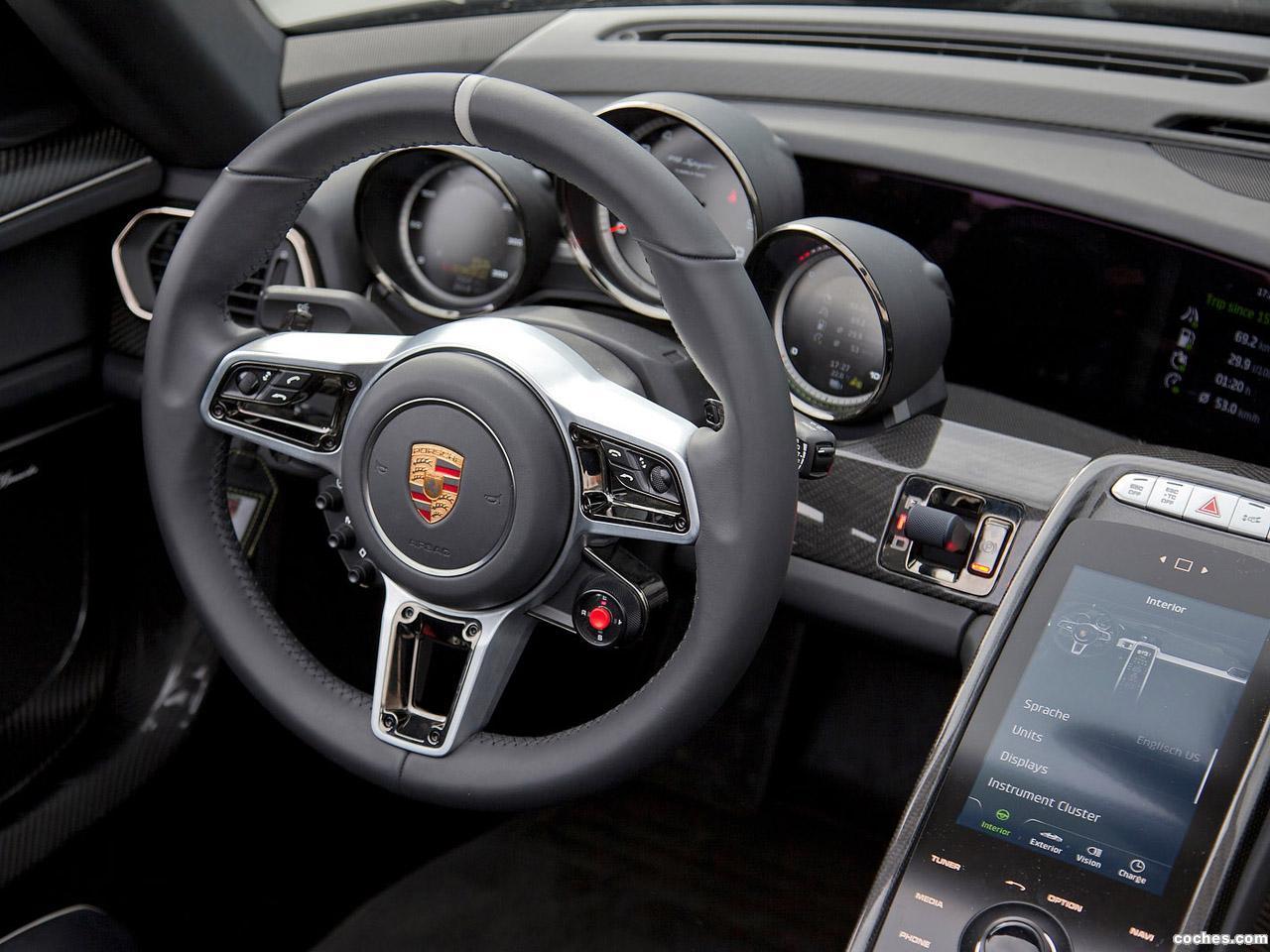Foto 9 de Porsche  918 Spyder Prototype 2013