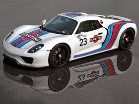Ver foto 4 de Porsche 918 Spyder Prototype Martini Racing Design 2012