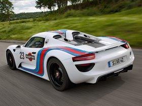 Ver foto 2 de Porsche 918 Spyder Prototype Martini Racing Design 2012