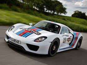 Ver foto 1 de Porsche 918 Spyder Prototype Martini Racing Design 2012