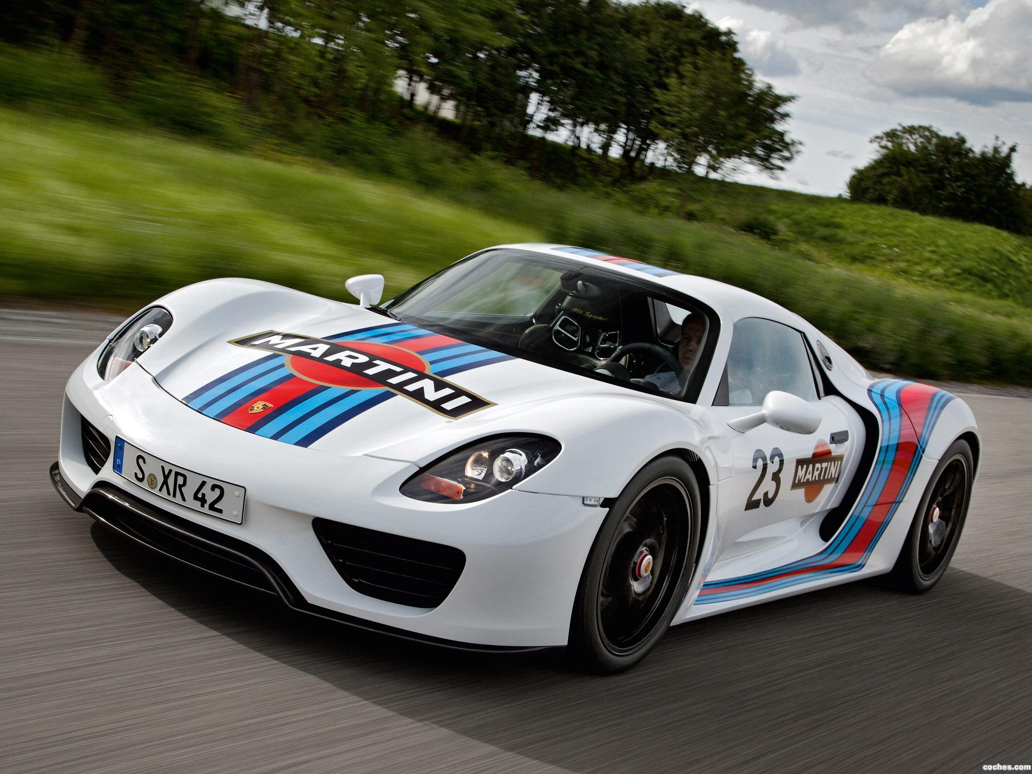 Foto 0 de Porsche 918 Spyder Prototype Martini Racing Design 2012