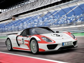 Ver foto 3 de Porsche 918 Spyder Weissach Package 2014