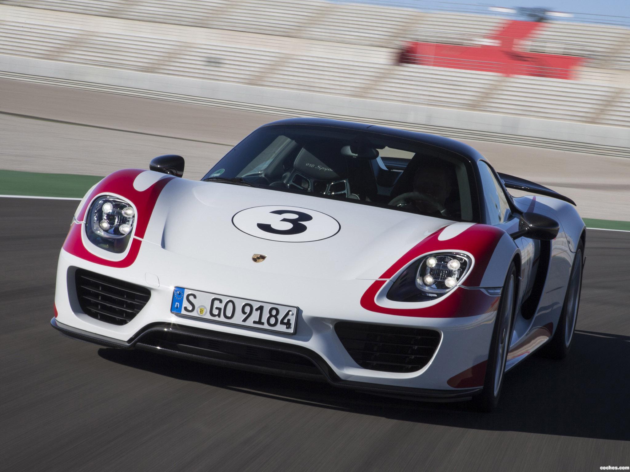 Foto 5 de Porsche 918 Spyder Weissach Package 2014