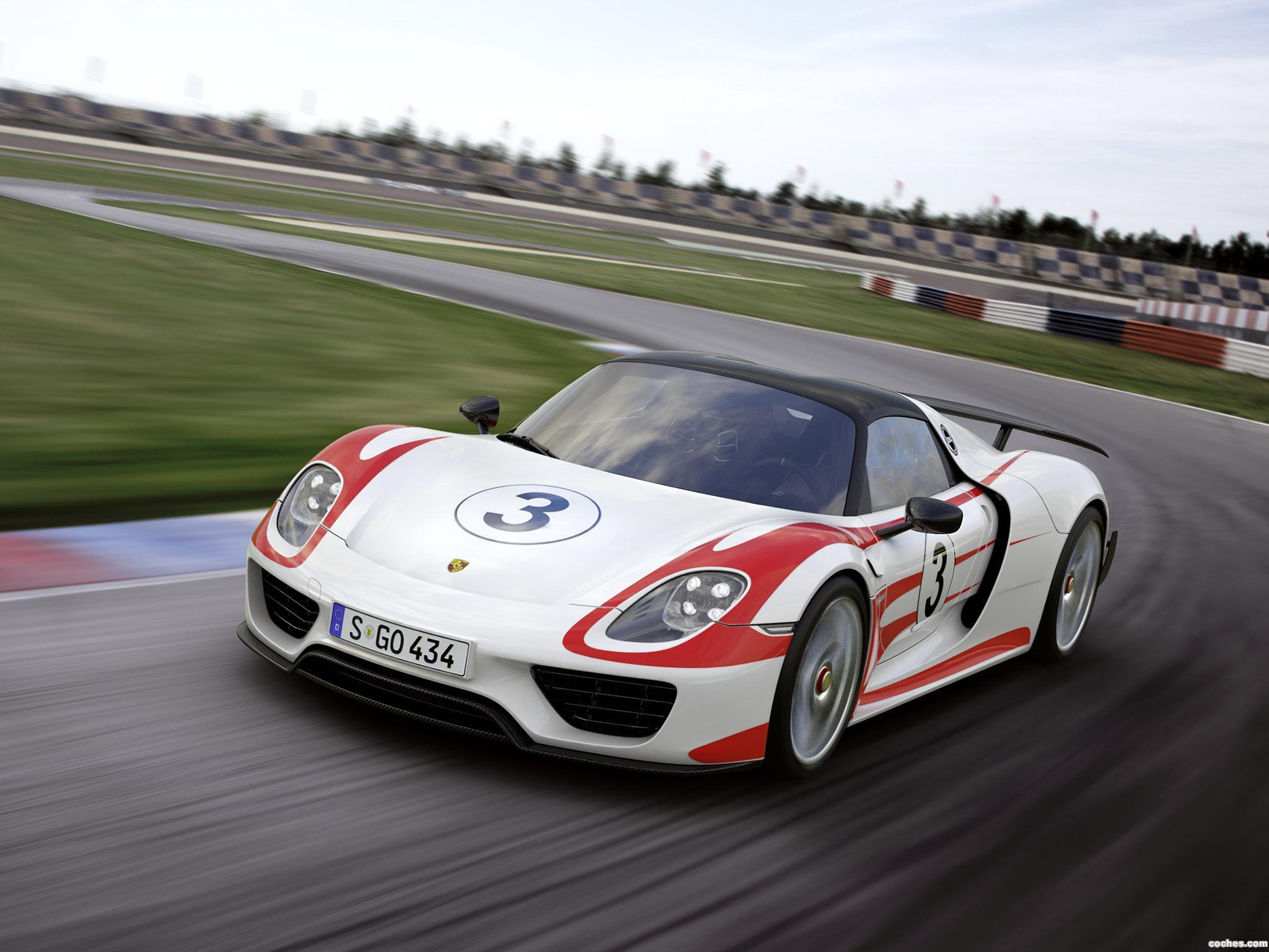 Foto 13 de Porsche 918 Spyder Weissach Package 2014