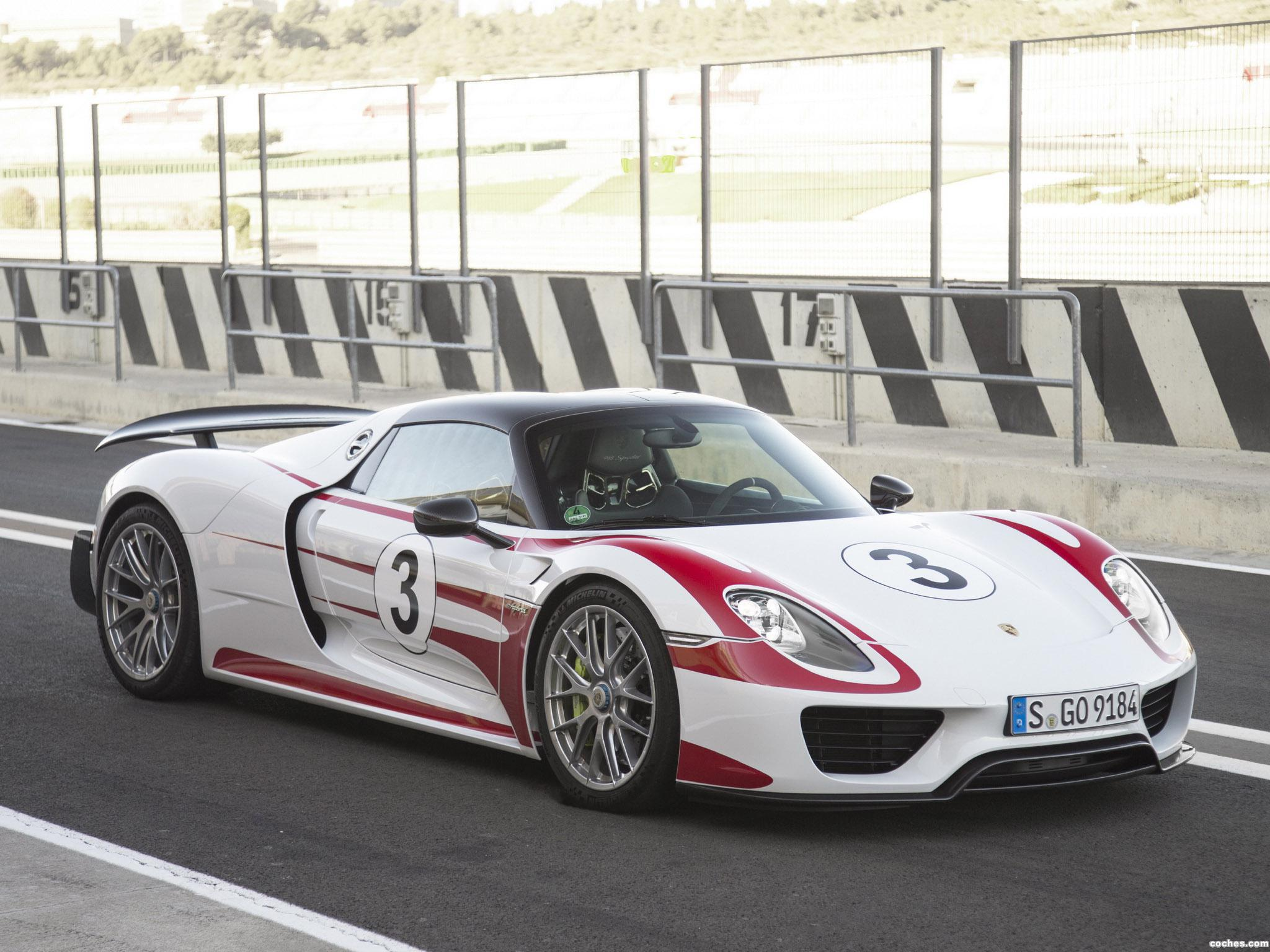 Foto 9 de Porsche 918 Spyder Weissach Package 2014
