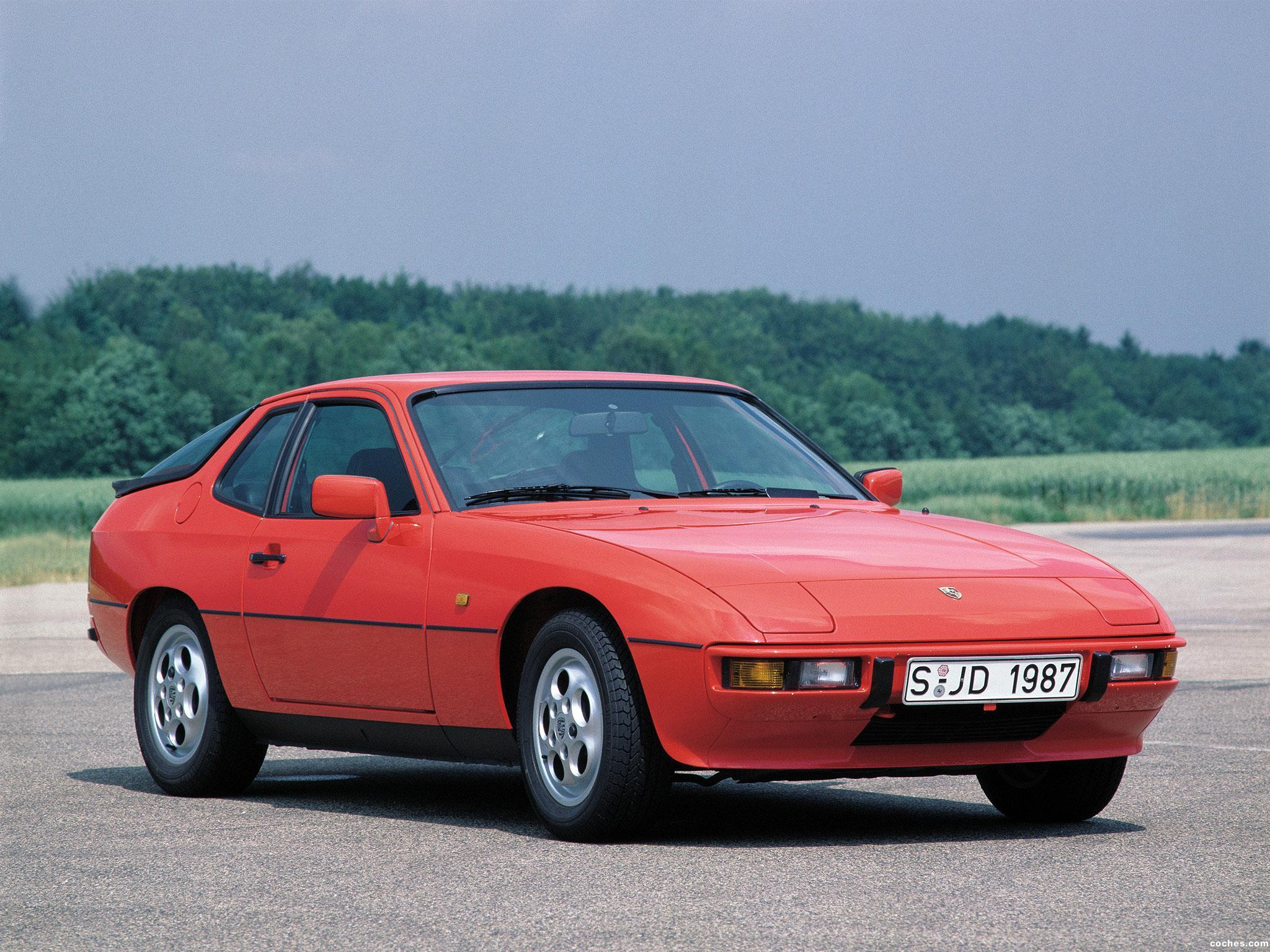 fotos de porsche 924 s coupe 1986. Black Bedroom Furniture Sets. Home Design Ideas