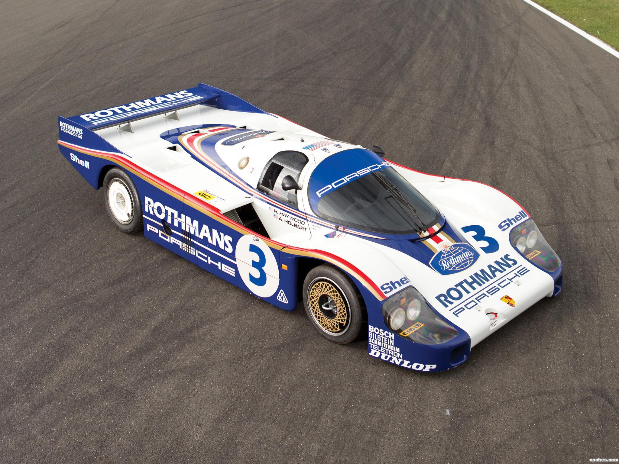 Foto 0 de Porsche 956C Coupe 1982