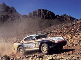 Ver foto 4 de Porsche 959 Paris Dakar 1985