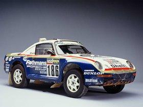 Fotos de Porsche 959 Paris Dakar 1985