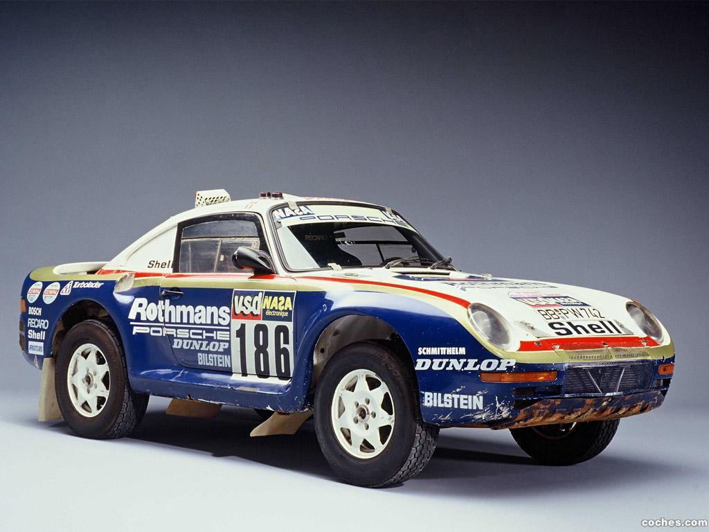 Foto 0 de Porsche 959 Paris Dakar 1985