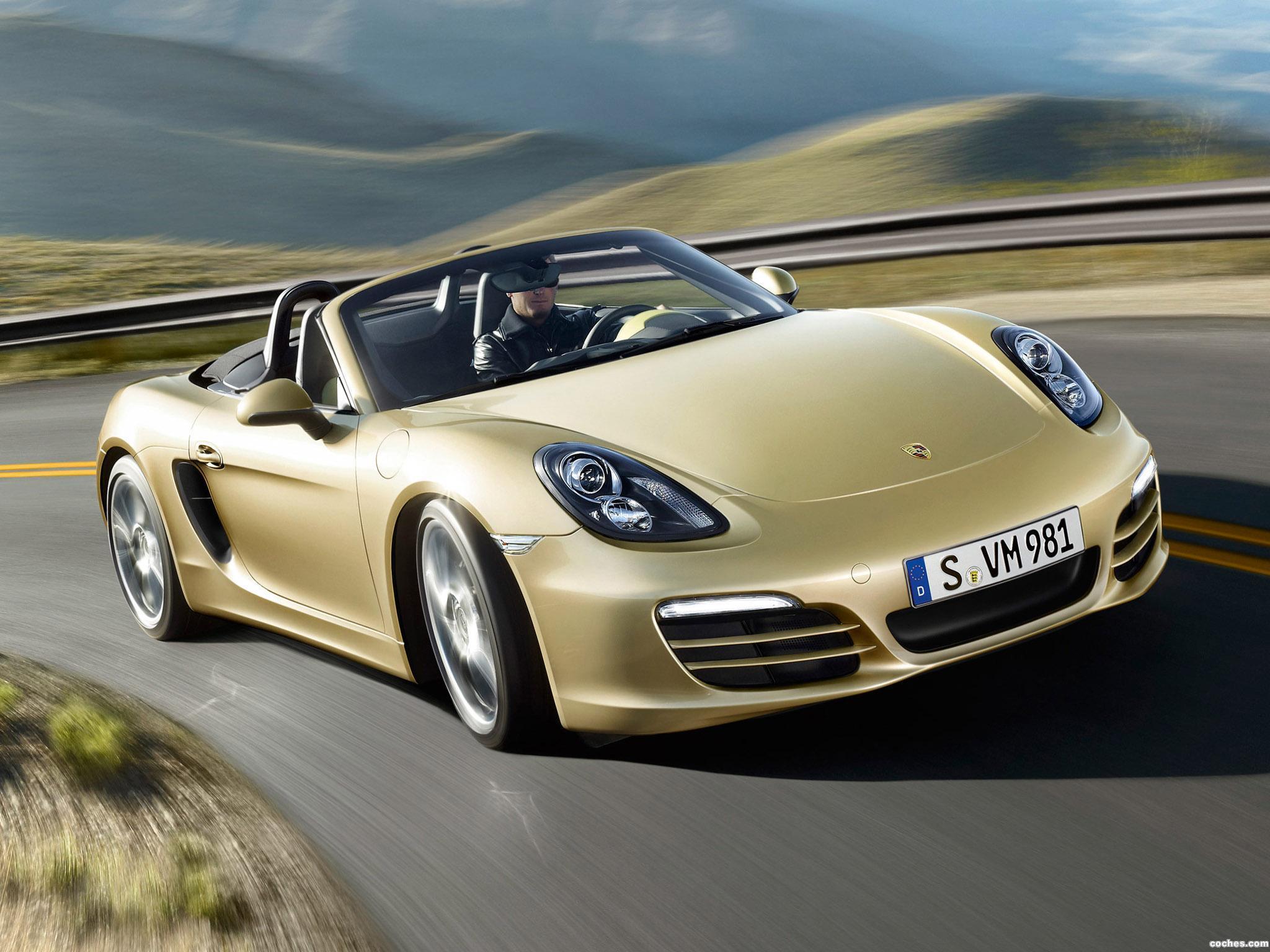 Foto 0 de Porsche Boxster 981 2012