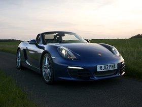 Fotos de Porsche Boxster 981 UK 2012