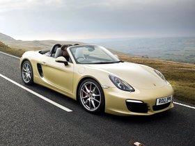 Fotos de Porsche Boxster S 981 UK 2010