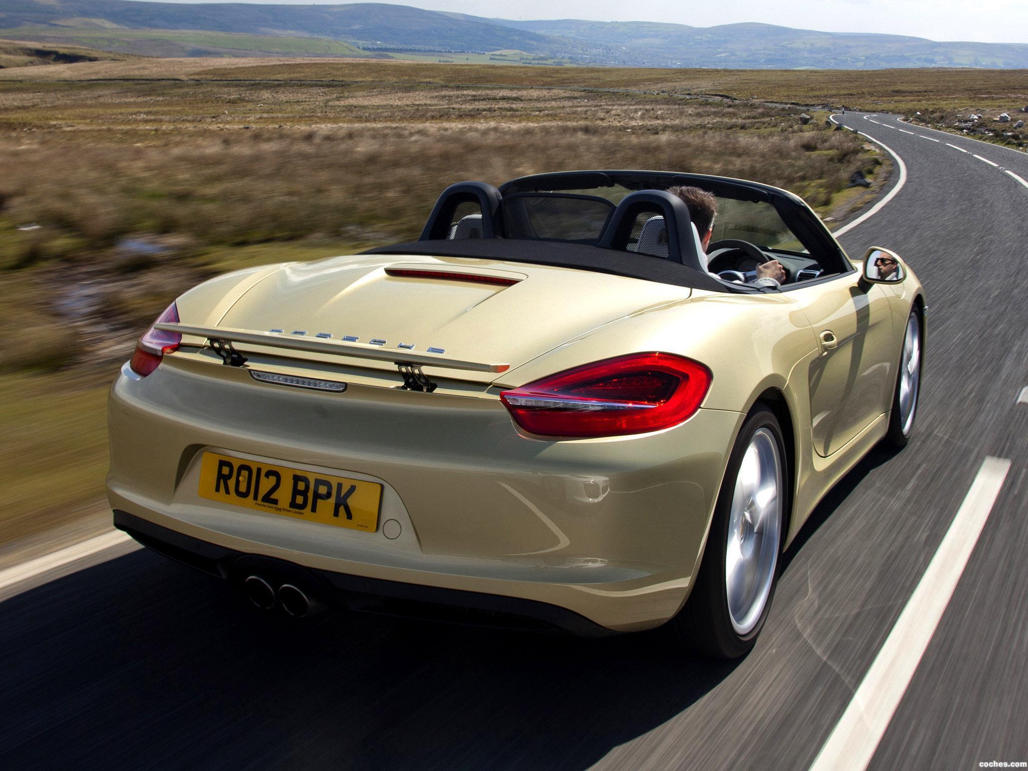 Foto 5 de Porsche Boxster S 981 UK 2010
