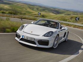 Fotos de Porsche Boxster Spyder 981 2015