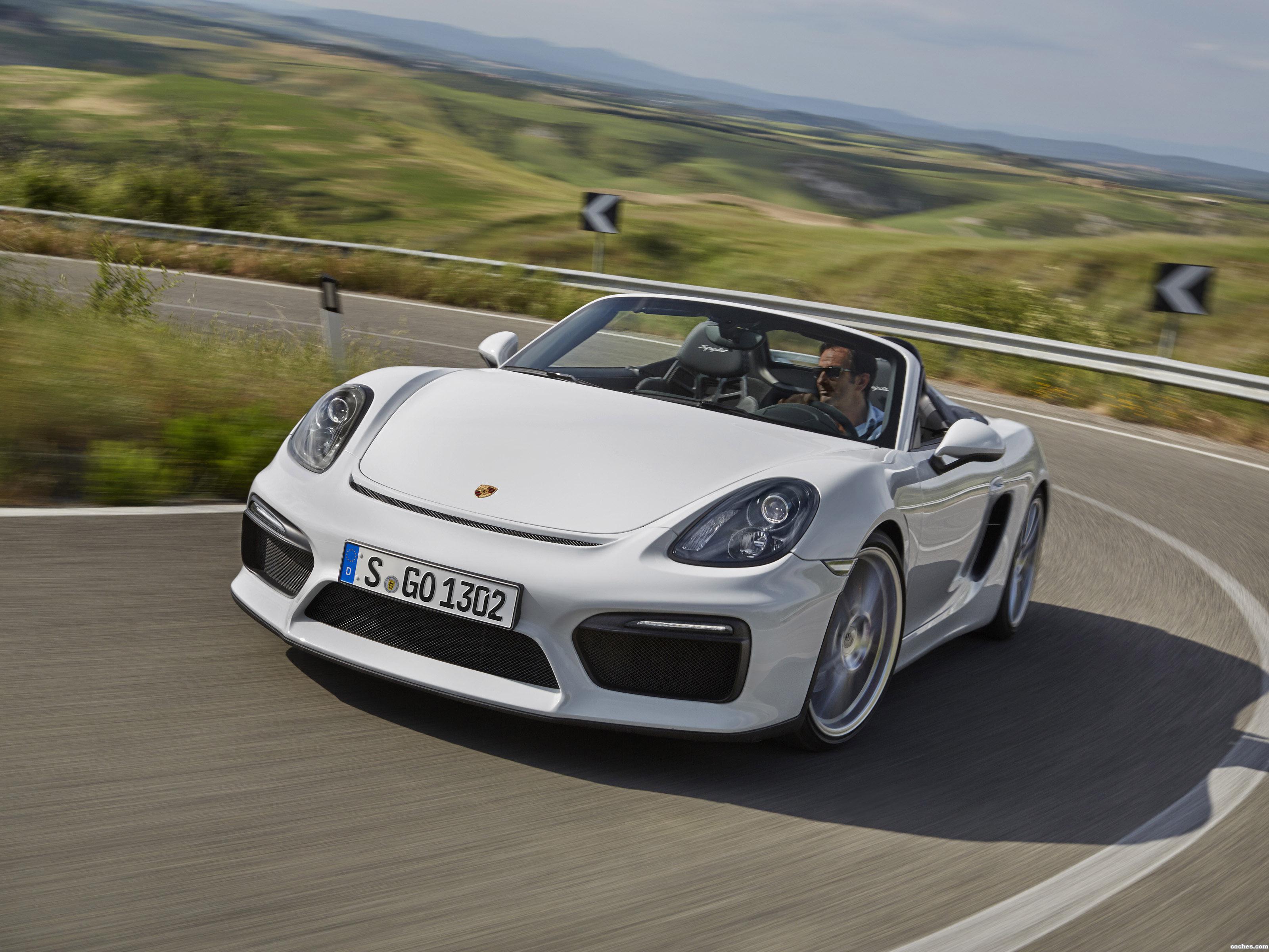 Foto 0 de Porsche Boxster Spyder 981 2015