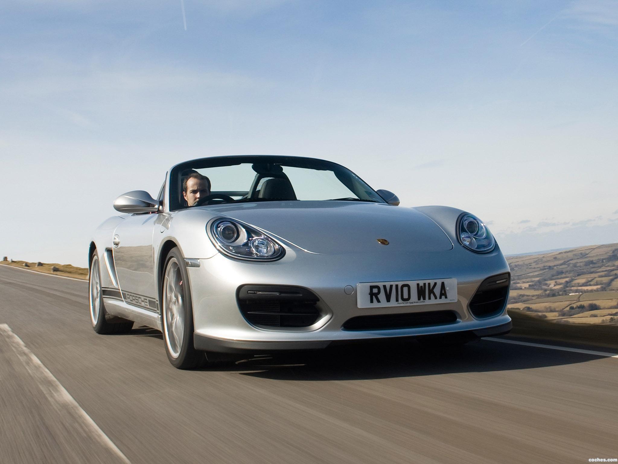 Foto 0 de Porsche Boxter Spyder UK 2010