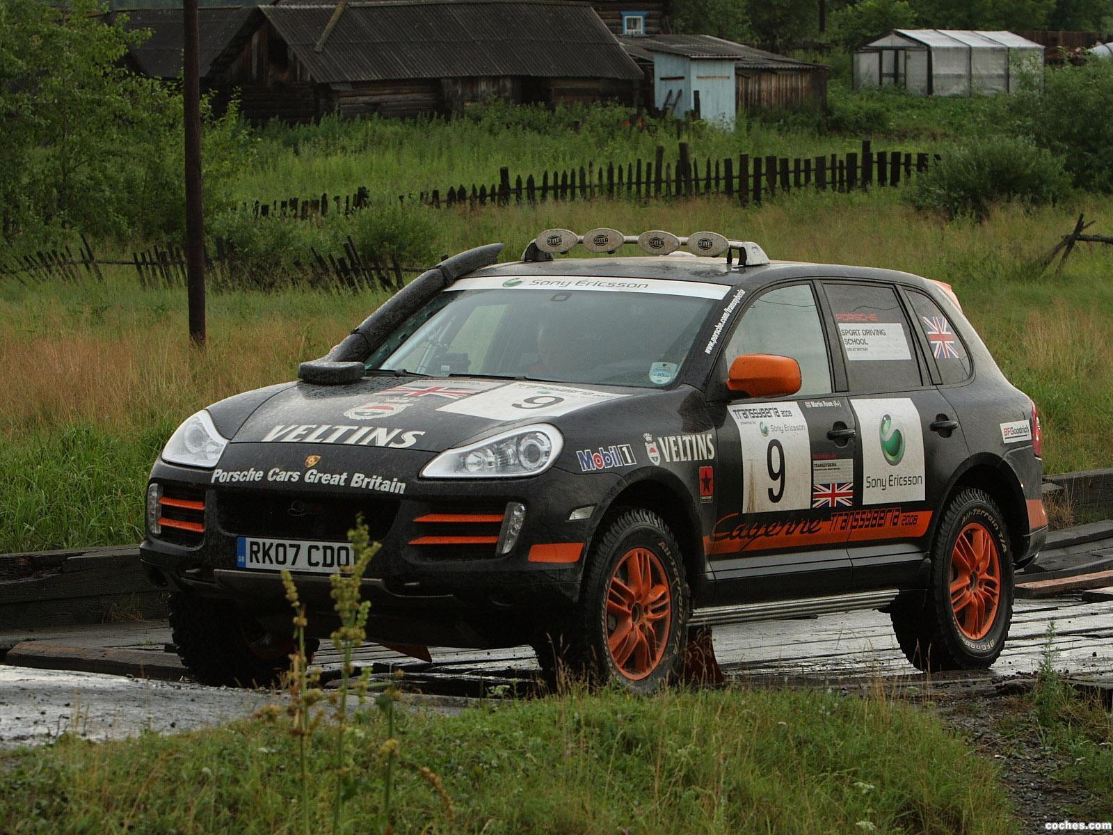 Foto 0 de Porsche Cayenne S Transsyberia 957 2008