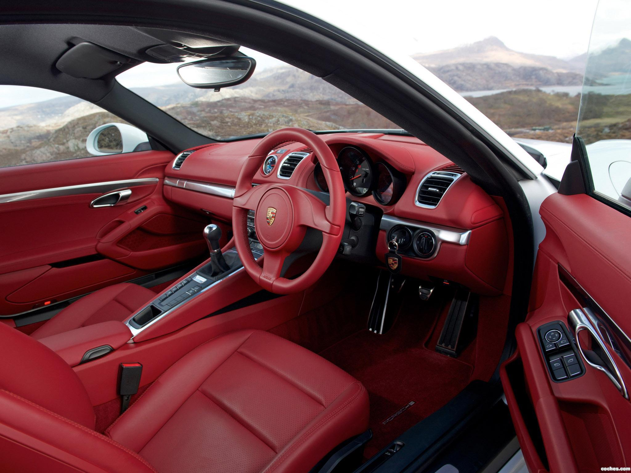Foto 13 de Porsche Cayman 981C UK 2013
