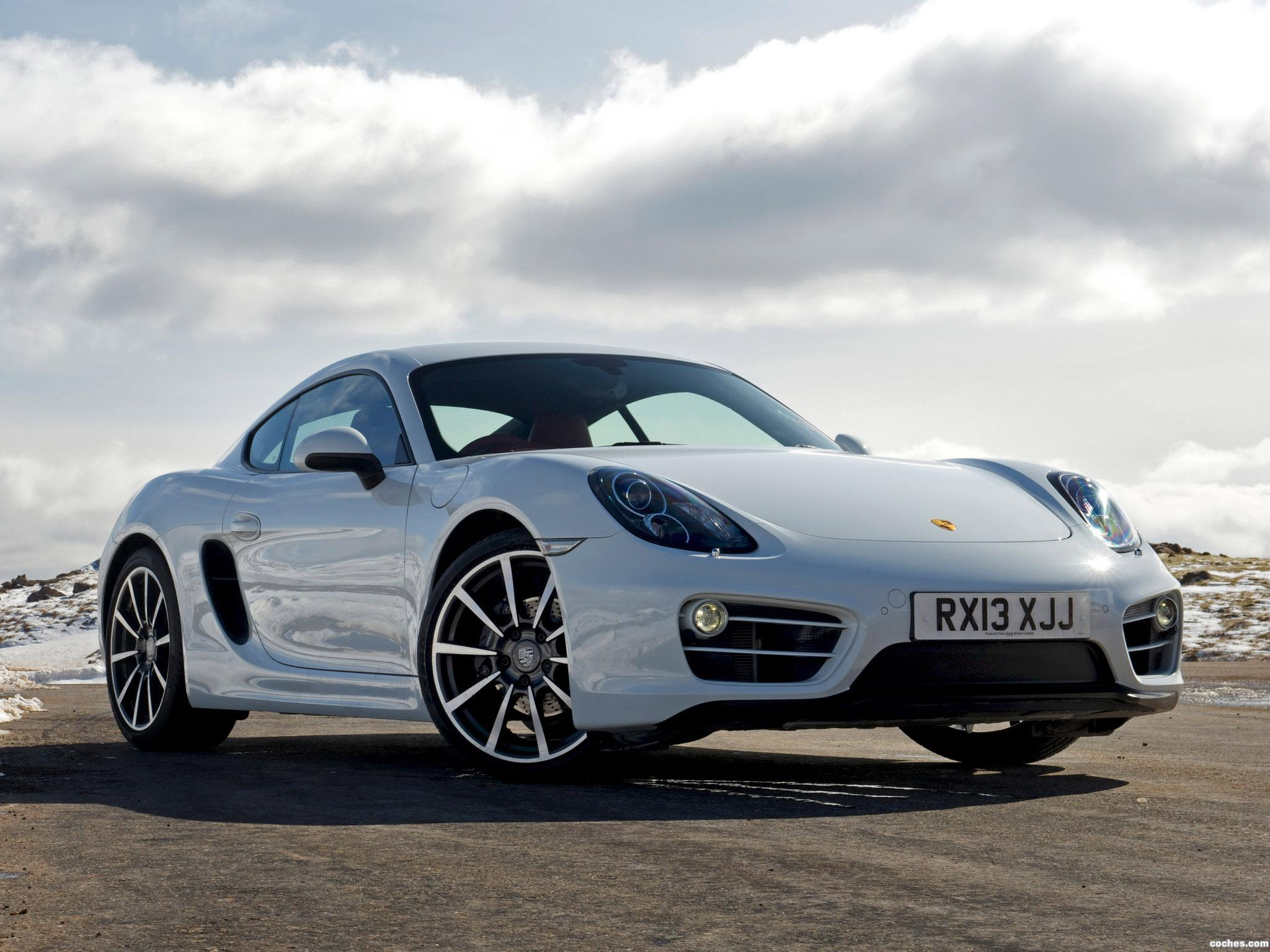 Foto 1 de Porsche Cayman 981C UK 2013