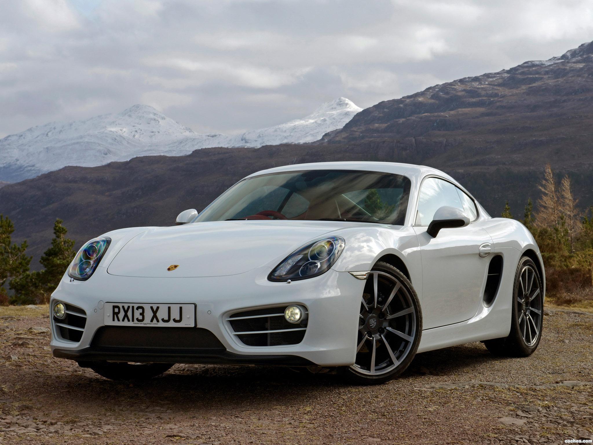 Foto 0 de Porsche Cayman 981C UK 2013