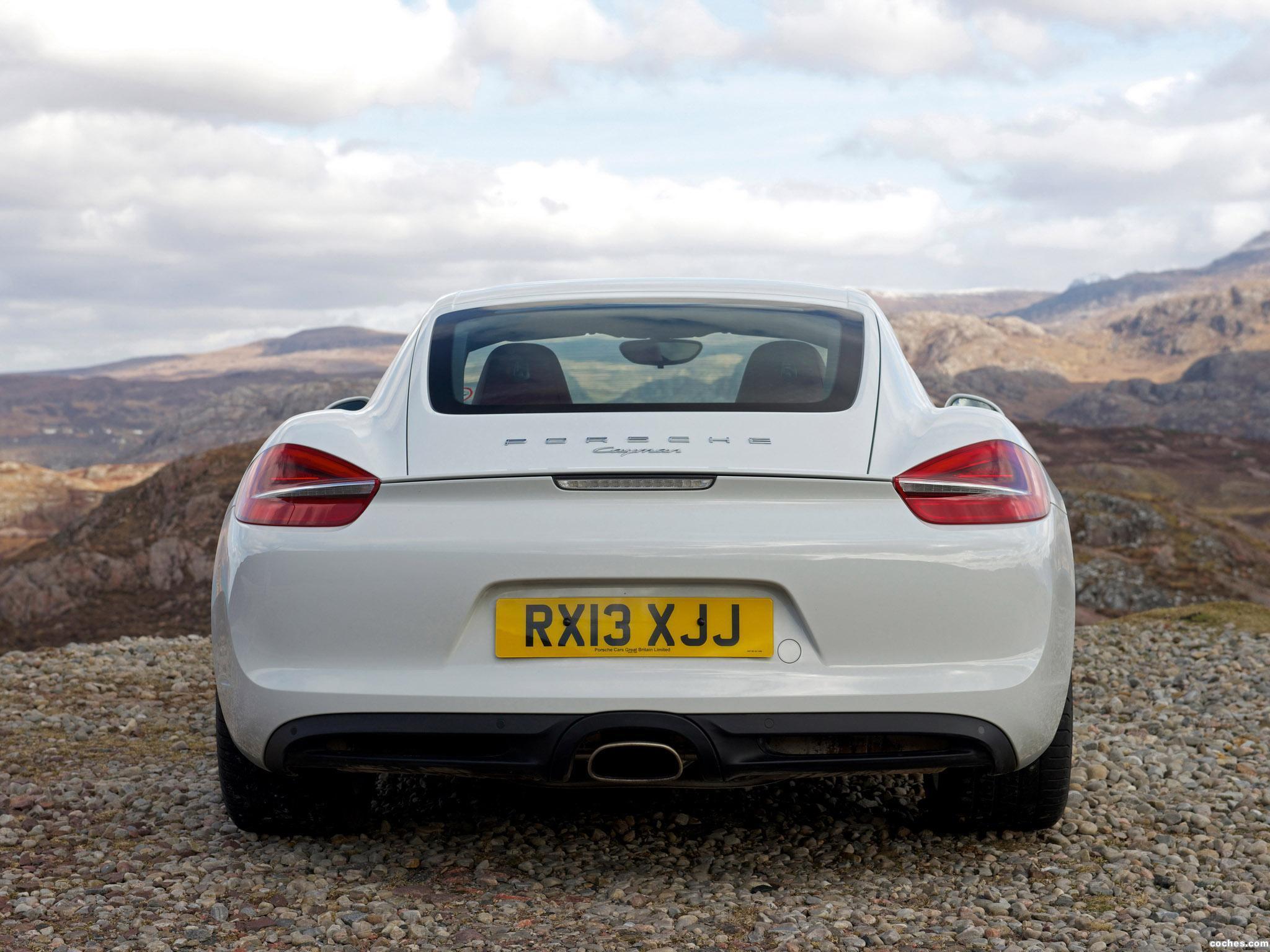 Foto 7 de Porsche Cayman 981C UK 2013