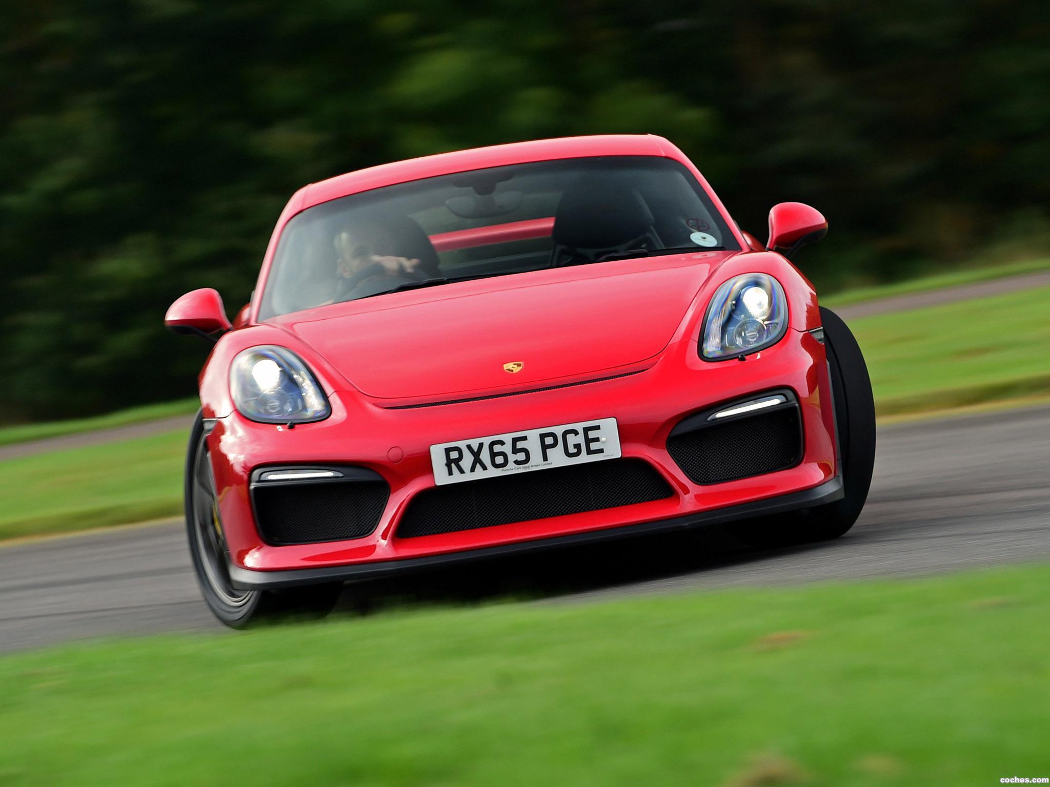 Foto 0 de Porsche Cayman GT4 981C UK 2015