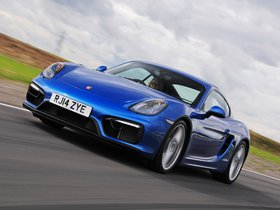 Fotos de Porsche Cayman GTS 981C UK 2014