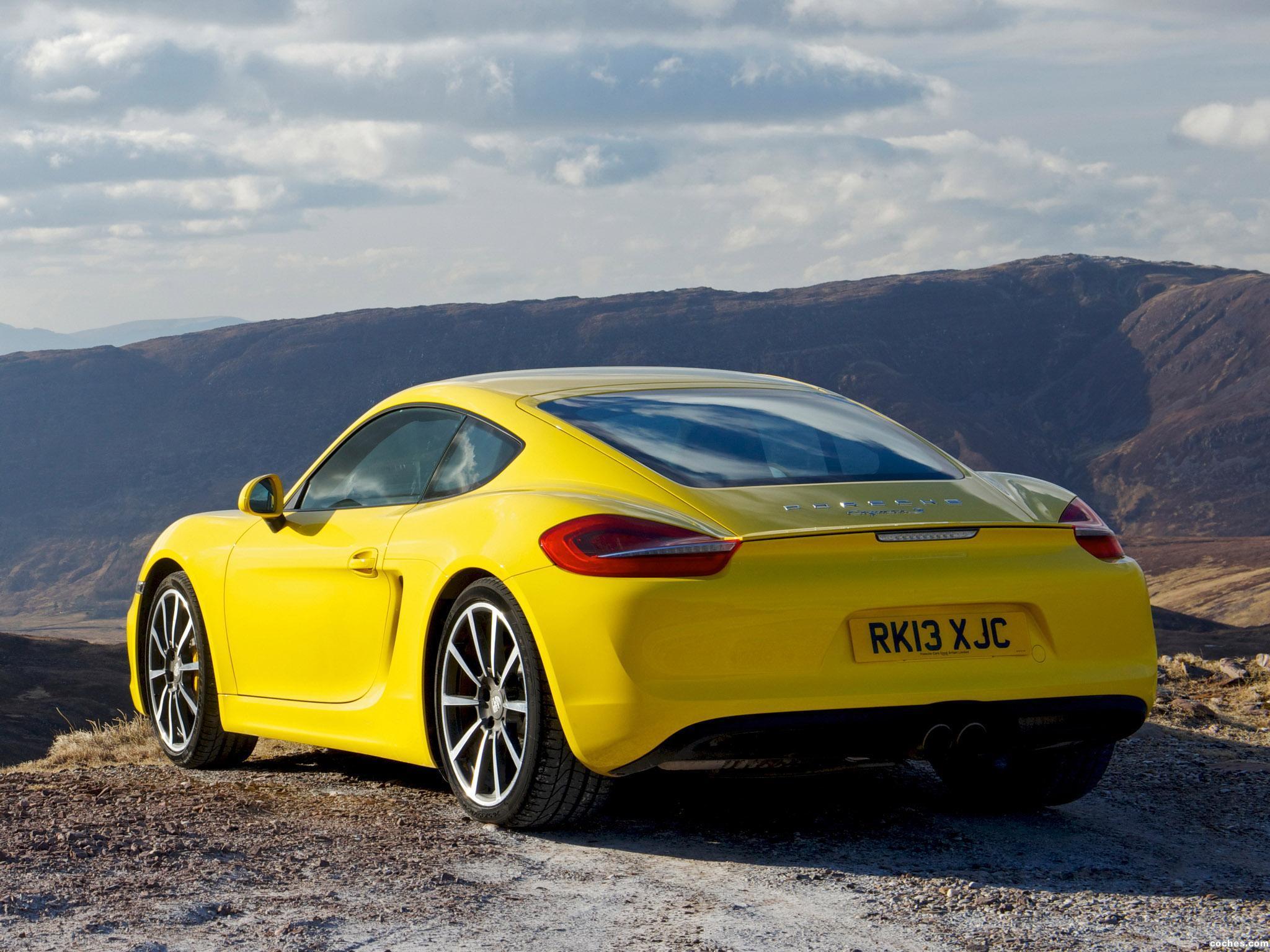 Foto 3 de Porsche Cayman S 981C UK 2013