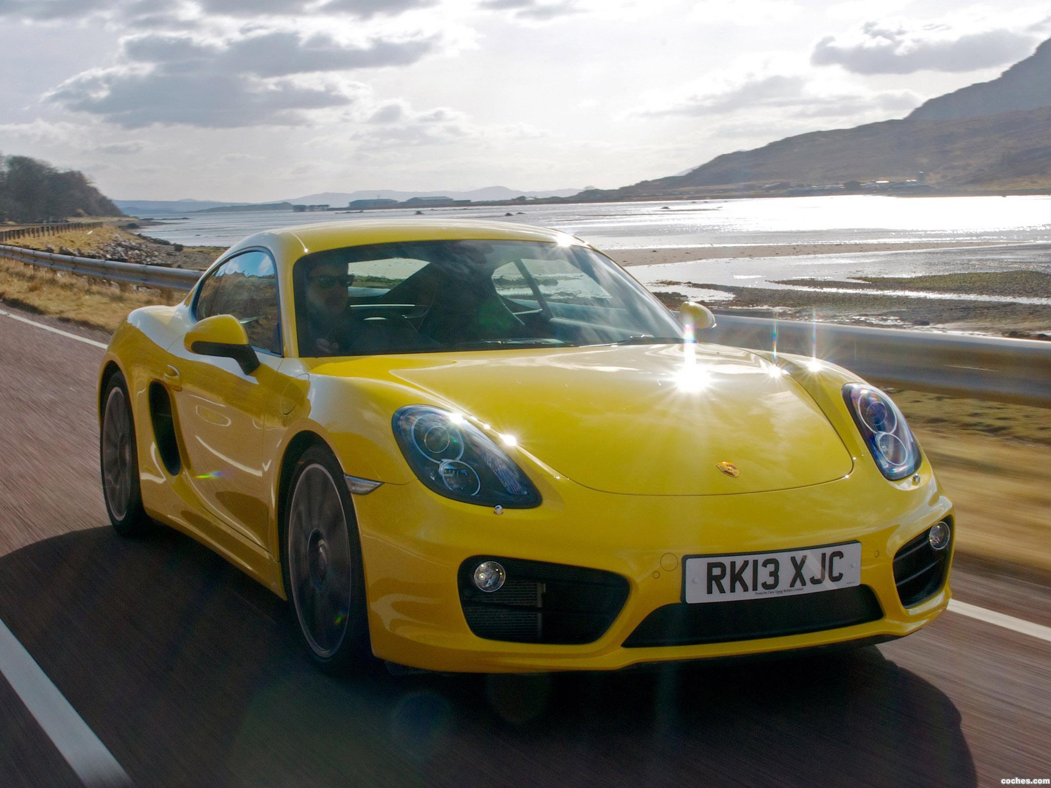 Foto 0 de Porsche Cayman S 981C UK 2013