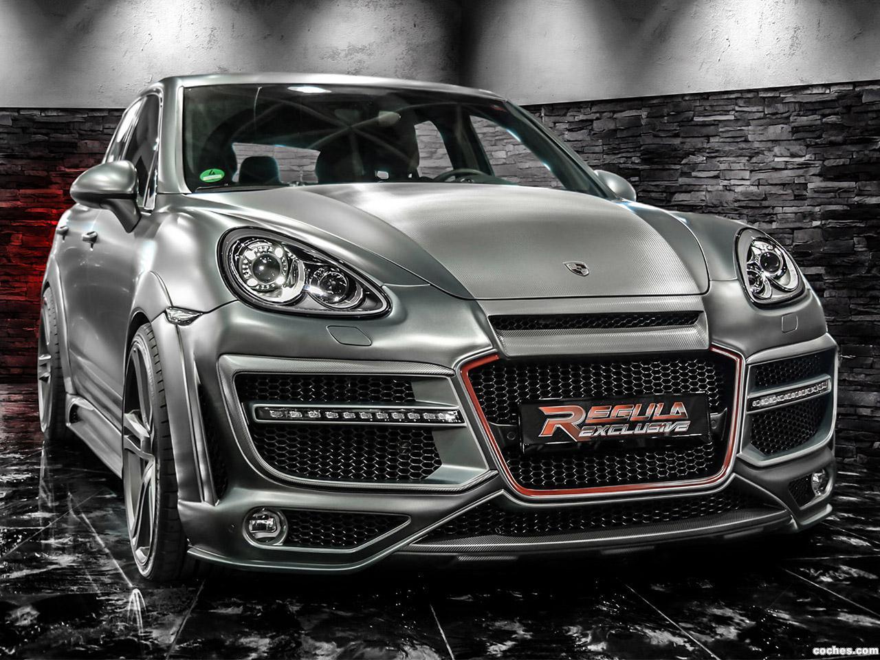 Foto 0 de Porsche Cayenne Regula Tuning 2014