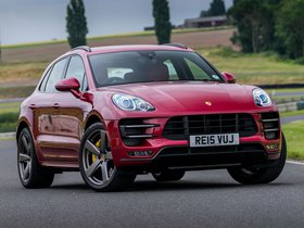 Fotos de Porsche Macan Turbo UK 95B 2014