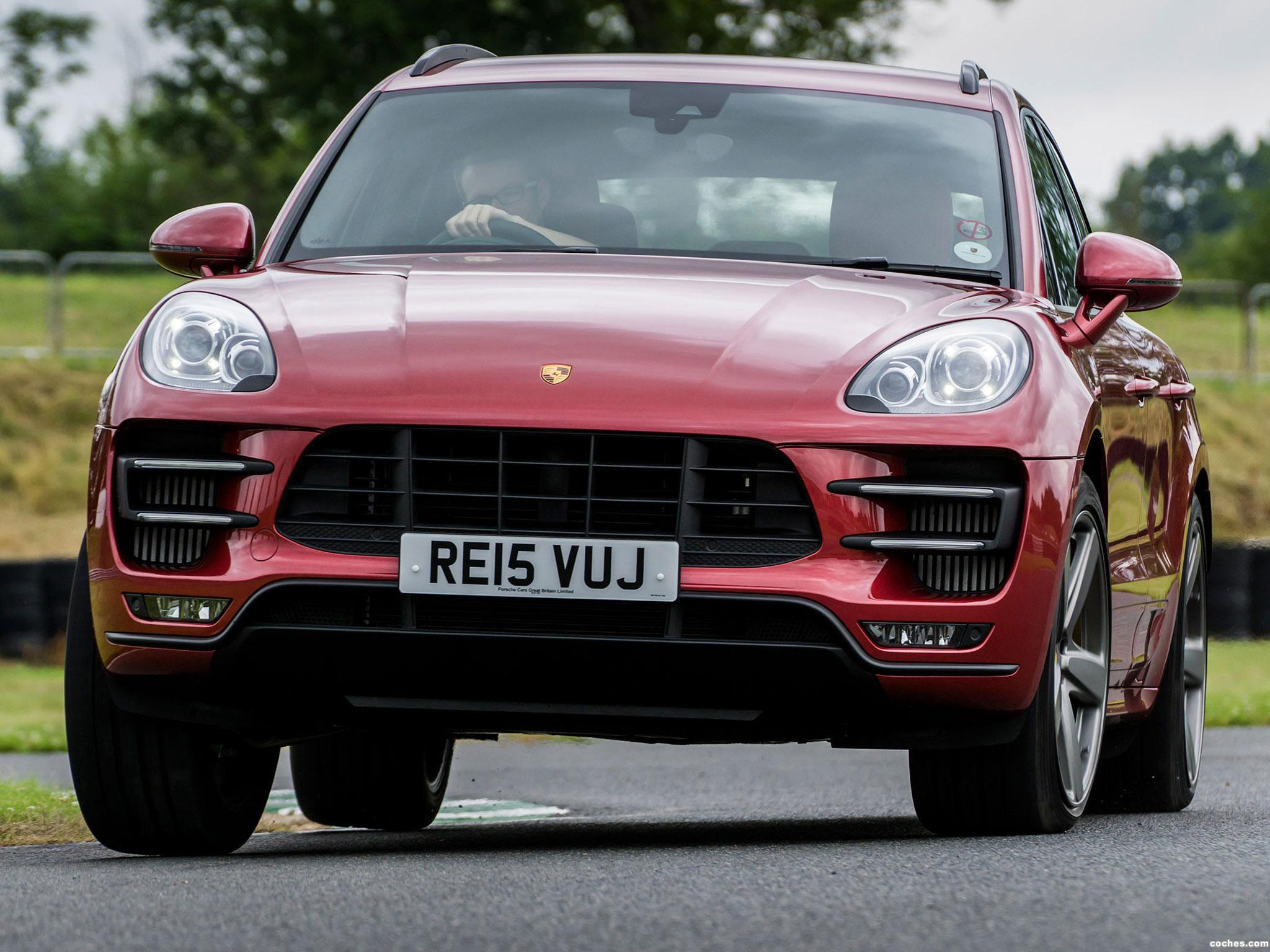 Foto 6 de Porsche Macan Turbo UK 95B 2014