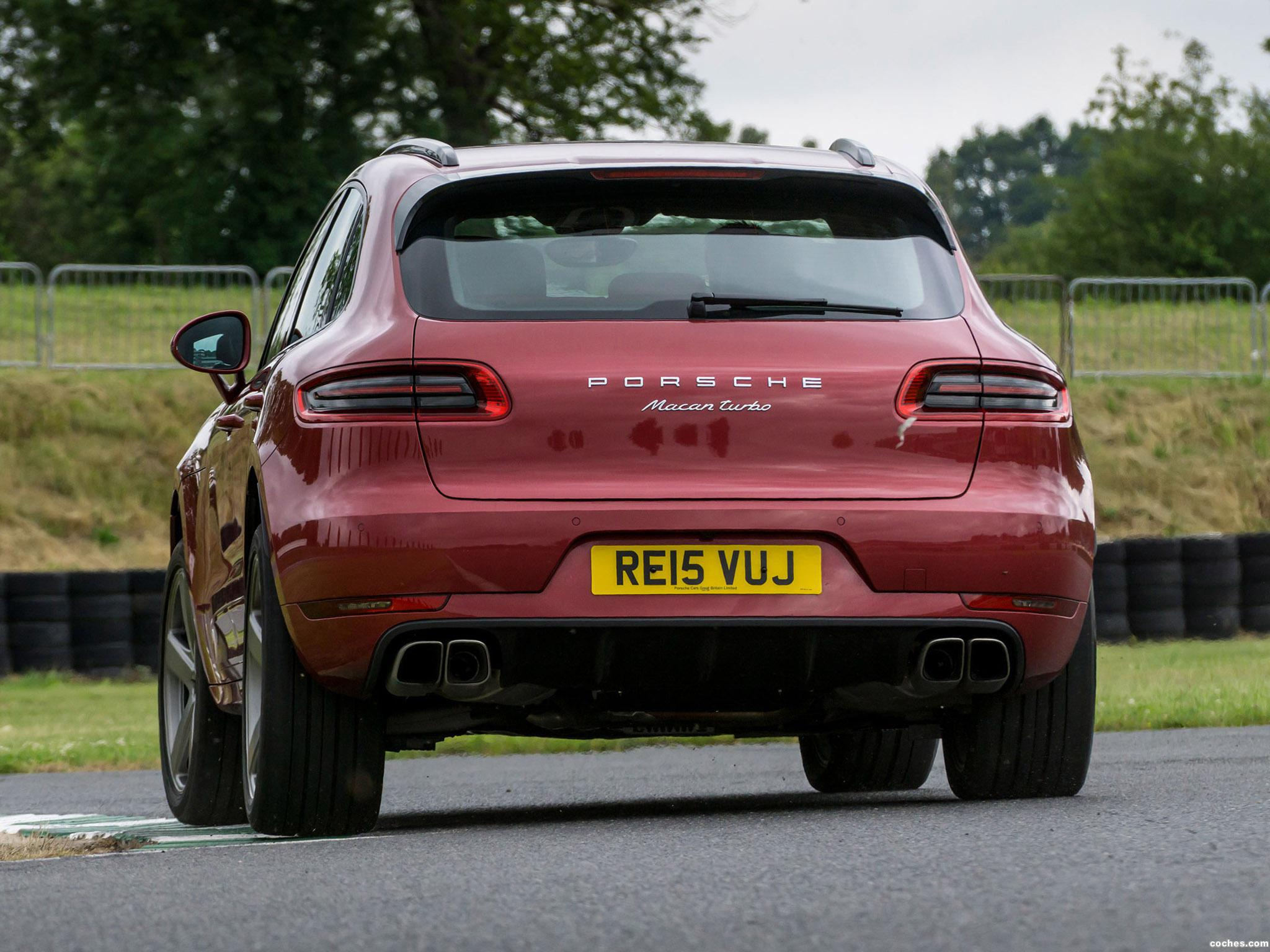 Foto 5 de Porsche Macan Turbo UK 95B 2014