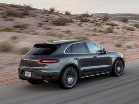 Ver foto 3 de Porsche Macan Turbo USA 2014