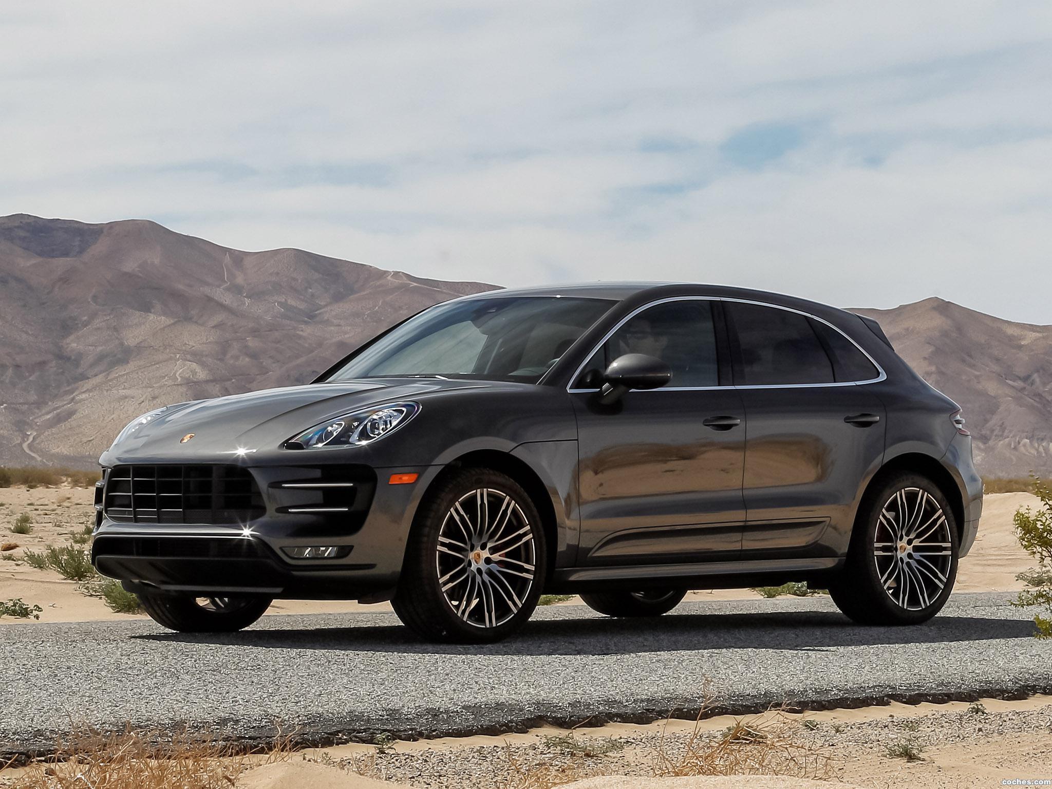 Foto 0 de Porsche Macan Turbo USA 2014