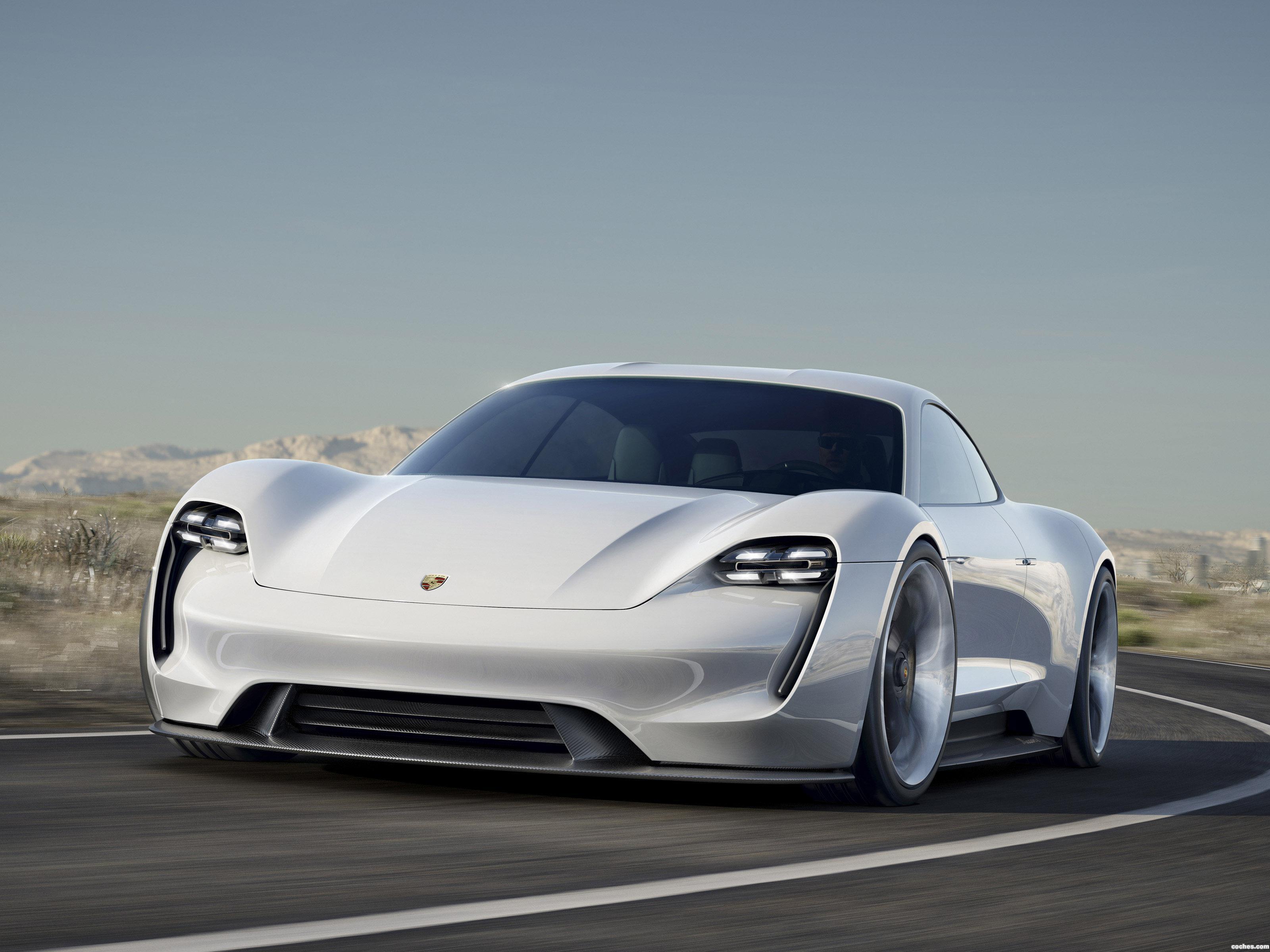 Foto 0 de Porsche Mission E Concept 2015