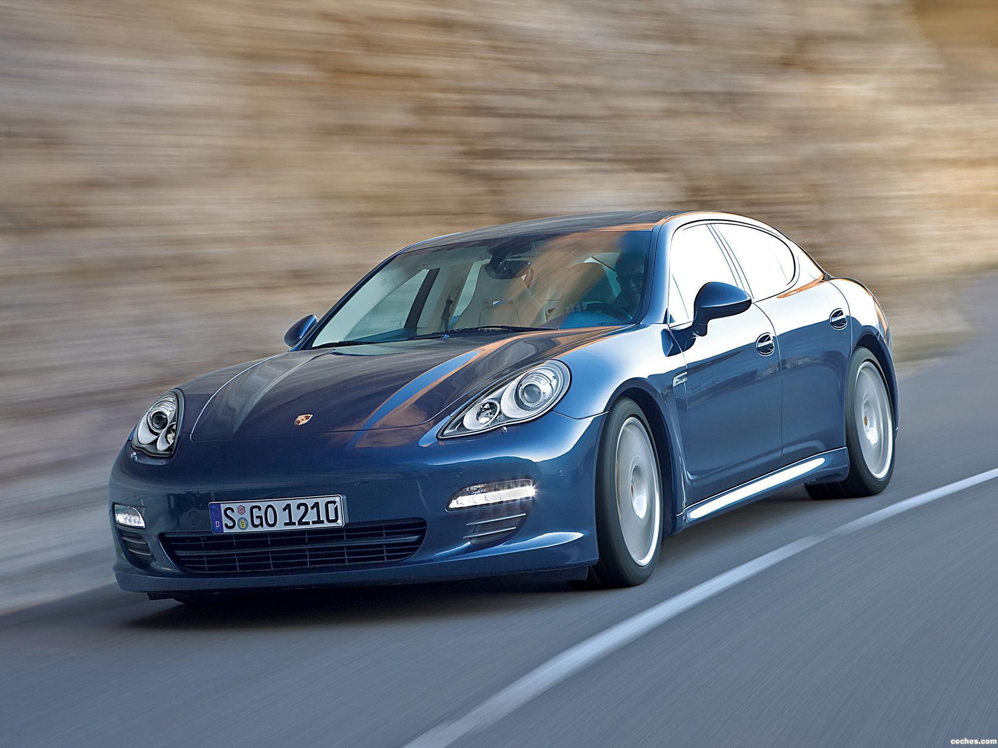 Foto 0 de Porsche Panamera 4S 2009