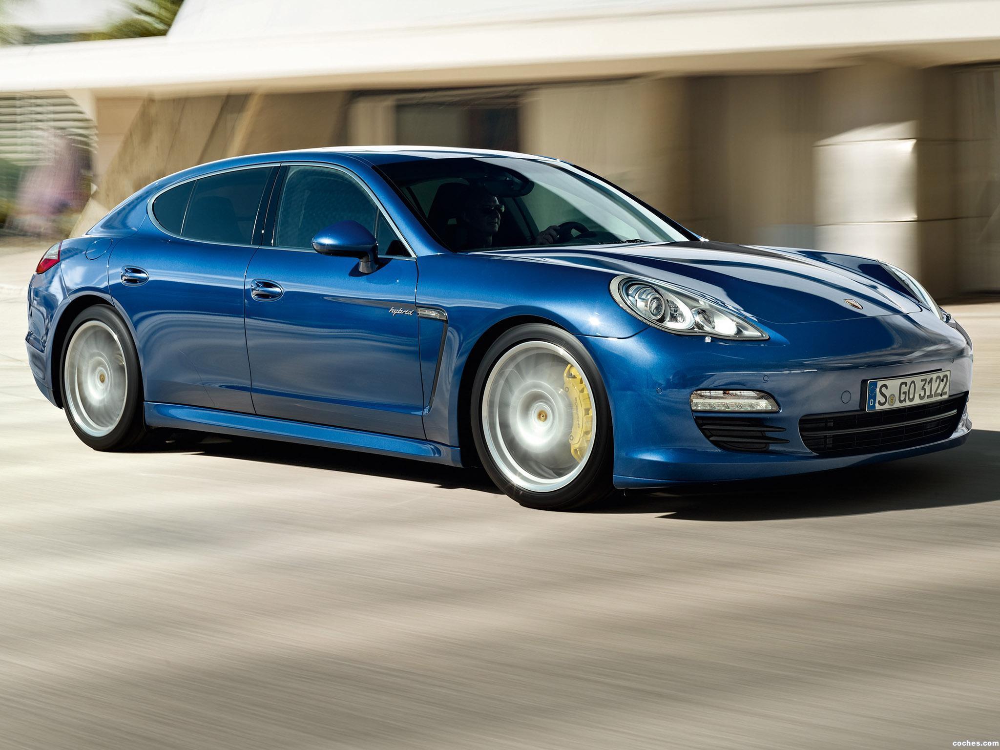 Foto 3 de Porsche Panamera S Hybrid 2011