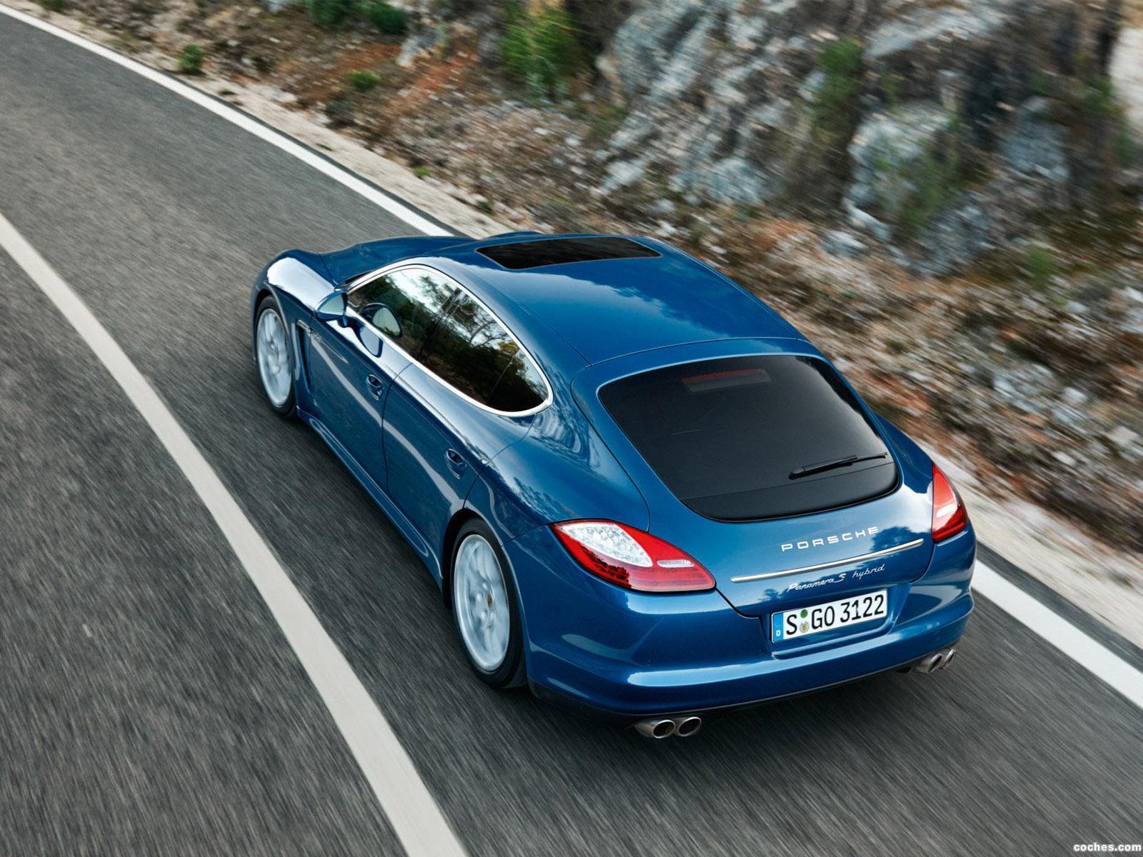 Foto 1 de Porsche Panamera S Hybrid 2011