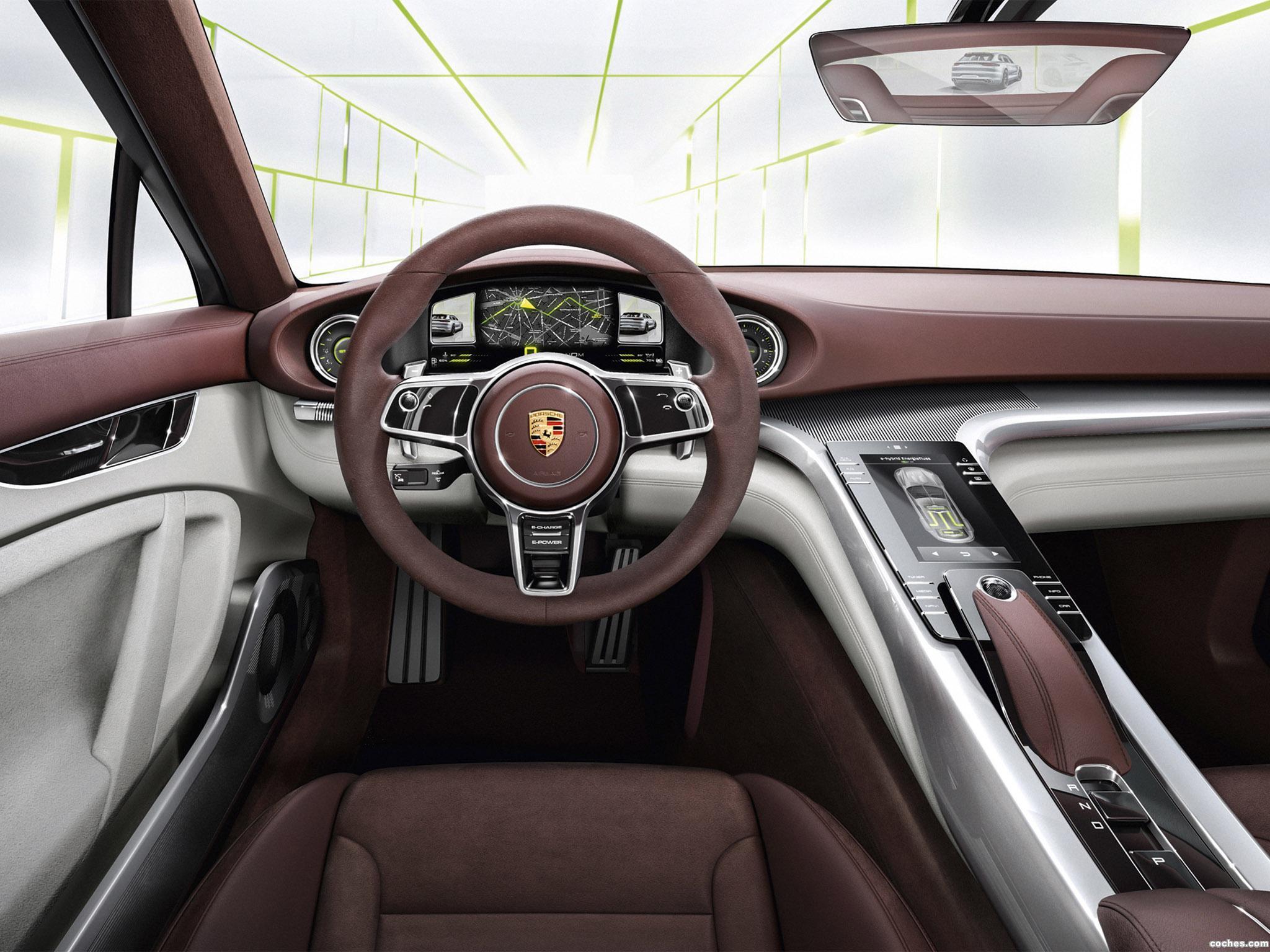 Foto 9 de Porsche Panamera Sport Turismo Concept 2012