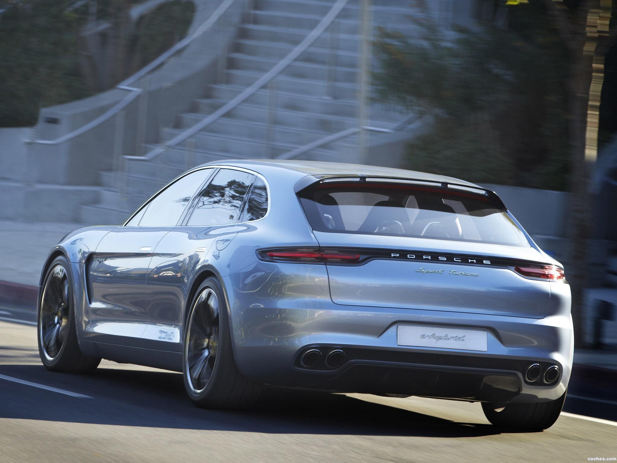 Foto 15 de Porsche Panamera Sport Turismo Concept 2012