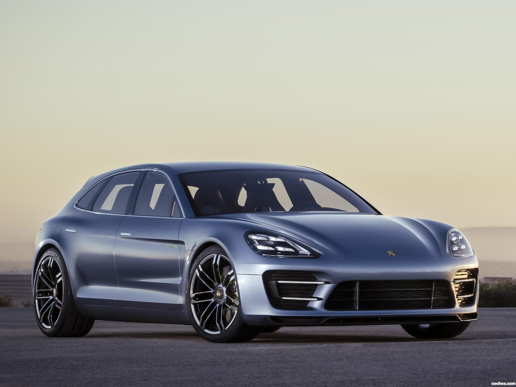 Foto 12 de Porsche Panamera Sport Turismo Concept 2012